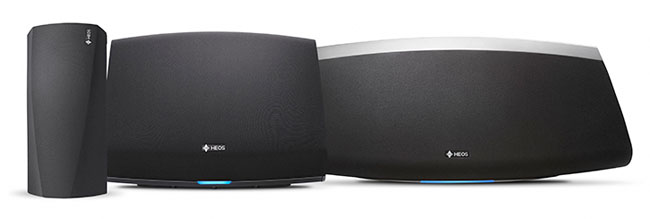 Denon HEOS multi-room speakers