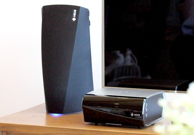 Denon HEOS 2 and HEOS amp, multi-room speaker system