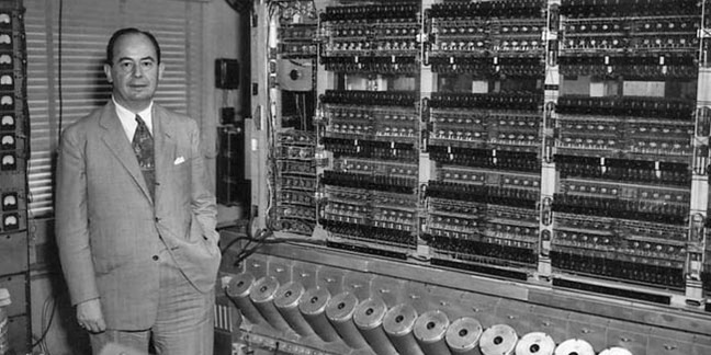 John von Neumann and the IAS computer