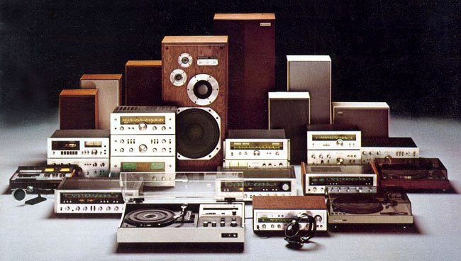 Kenwood vintage hi-fi separates from 1976