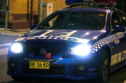 NSW Police car