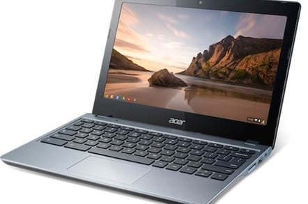 Acer's C720-3871 Core i3 Chromebook
