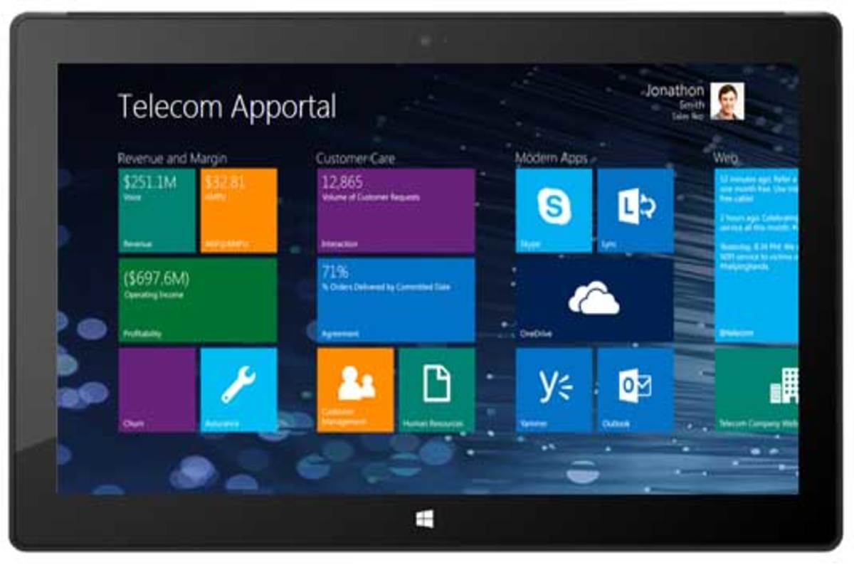 Microsoft wants to lure biz users with fondleable Windows 8.1 'Apportals'