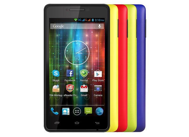 Prestigio Multiphone 5500 Duo Android smartphone