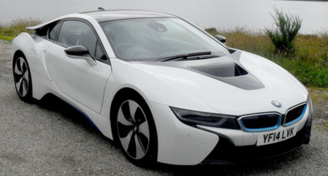 BMW i8 Plug-In Hybrid Supercar