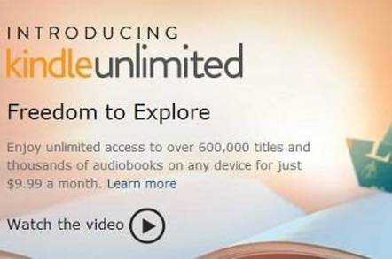 Kindle Unlimited screenshot