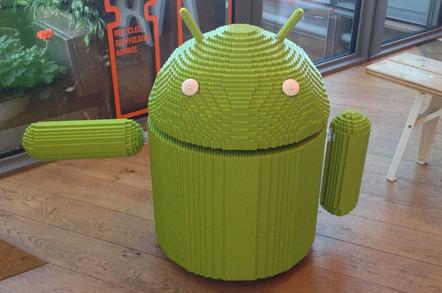 Google UK's Lego Android