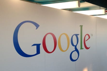 Google UK office logos