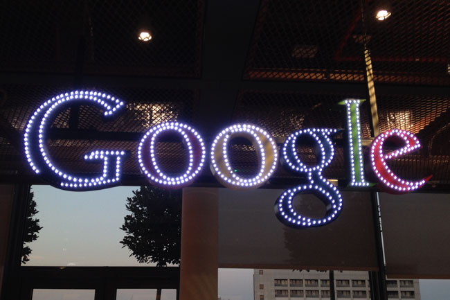 Google UK reception