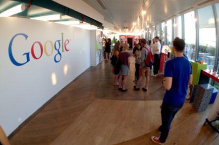 Google UK office logos