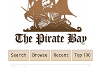 The Pirate Bay's new mobile site
