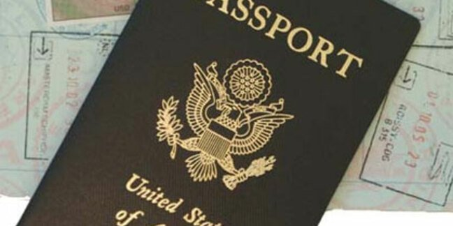 Photo of a US Passport