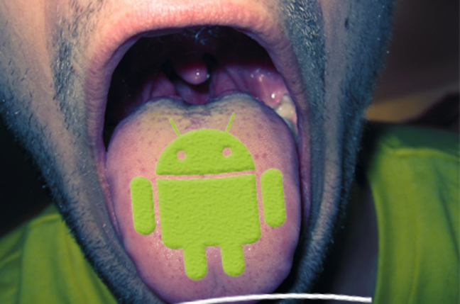 android tongue