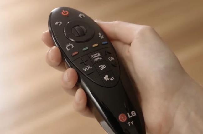 LG's Bluetooth Magic Remote
