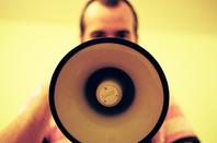 megaphone loudhailer