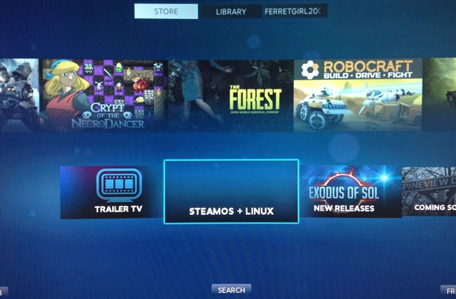 SteamOS Big Picture Mode