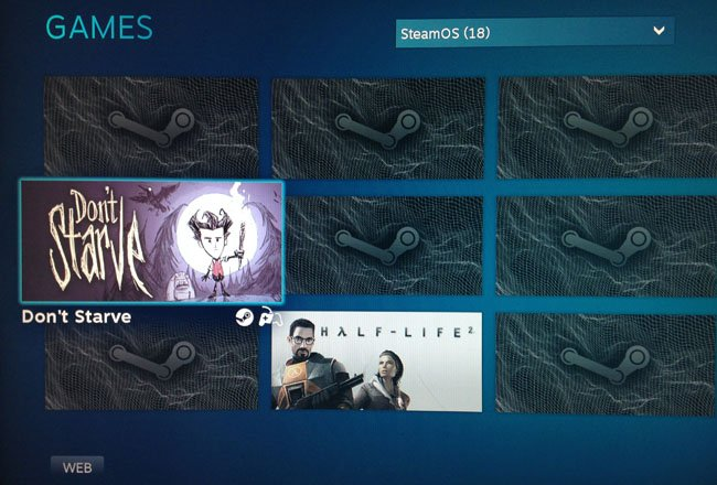 SteamOS - where did my games go?