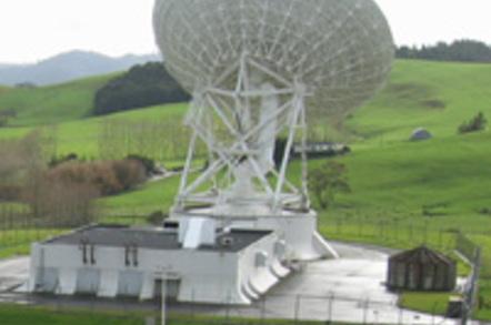 The 30m dish at Warkworth, New Zealand