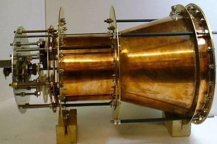 EmDrive space motor