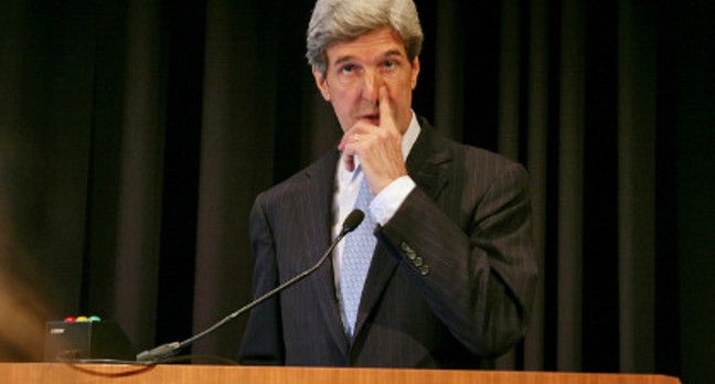 US Secretary of State John Kerry. Credit: Nostri Imago, Flickr