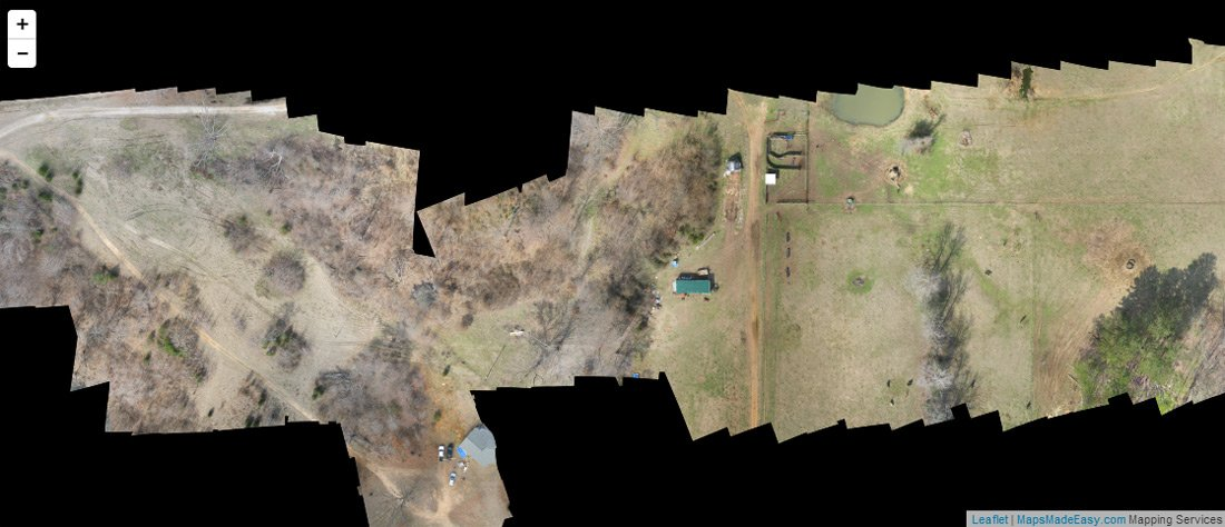 Kickstarter hopefuls promise high res aerial maps for the masses an example of a maps made easy stitch gumiabroncs Choice Image