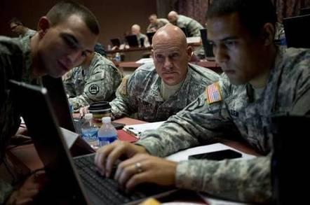 US Military hacking team