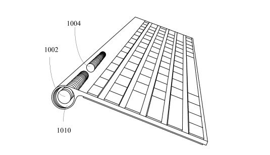 Illustration from Apple's wireless charging patent