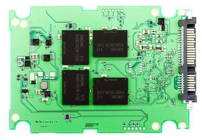 Samsung SSD845DC EVO PCB top