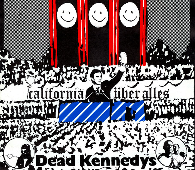 Dead Kennedys: Fresh Fruit for Rotting Vegetables, The Early Years - California Uber Alles cover