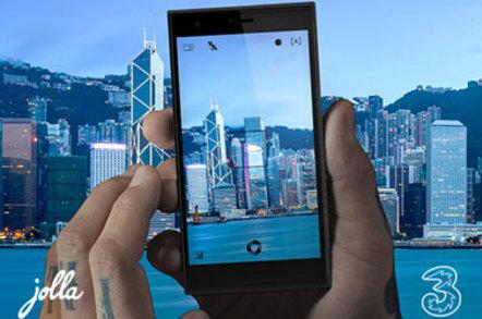 3 In Hong Kong has launched a sailfish phone