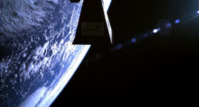 TechDemoSat-1 shot of planet Earth