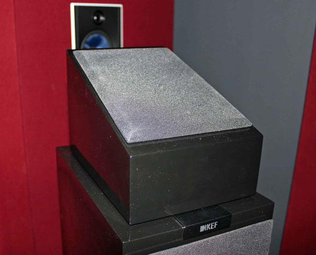 Dolby Atmos elevation speaker by Kef
