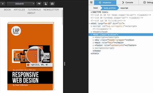 Firefox responsive