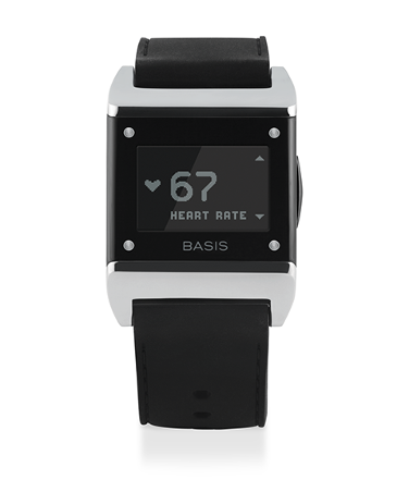Basis health-tracking wearable