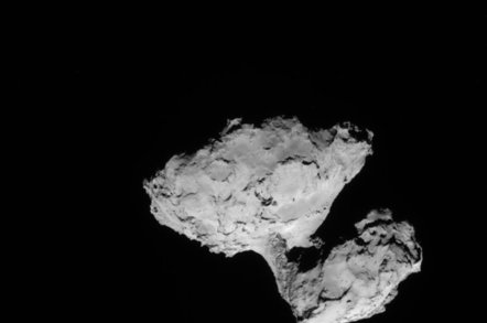 Comet 67P Churyumov-Gerasimenko on August 8th