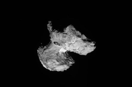 Comet 67P Churyumov Gerasimenko on August 12th