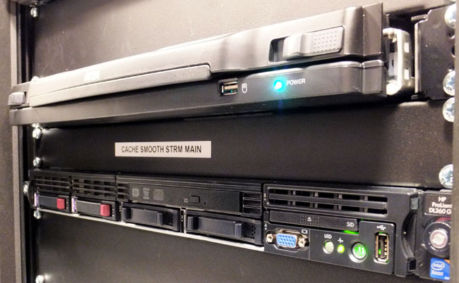MS IIS Smooth Streaming servers running on HP Proliant kit