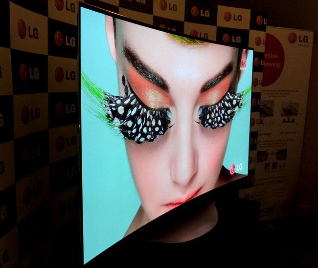 LG 77-inch 4K OLED TV