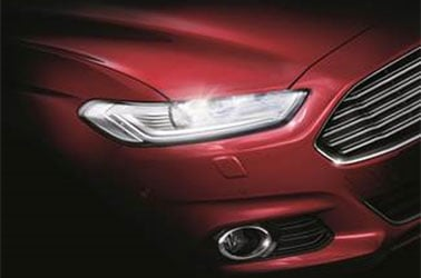 Ford Mondeo has an LED headlight