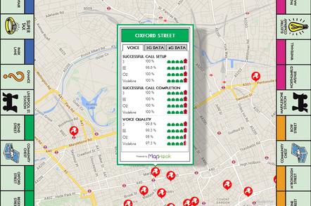 Checking london streets