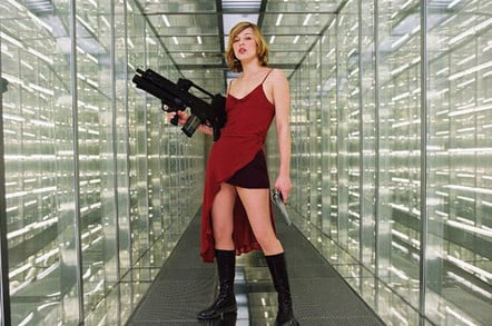 Milla Jovovich in Resident Evil