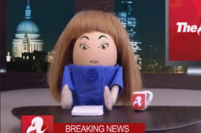Regina Egbert, El Reg's virtual news anchor