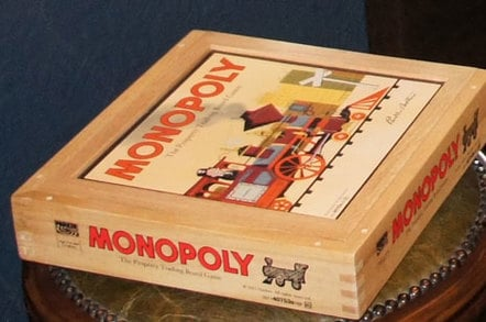 The monopoly box