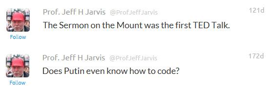 Nextification guru, Professor Jeff Jarvis