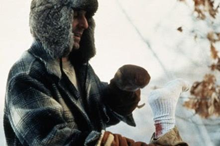 Woodchipper scene from Fargo