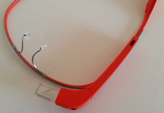 Nose grips Google Glass