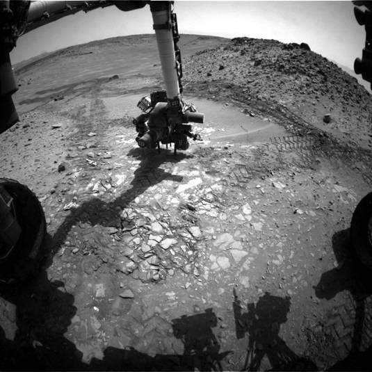 Bonanza King on Mars