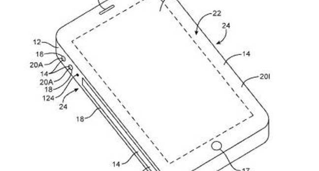 Apple panel patent