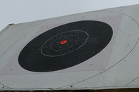 Bisley rifle range target. Credit: Darryl Stark