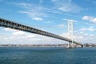 Japanse suspension bridge